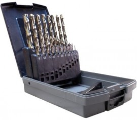 19pc Metric Drill Set (cobalt)