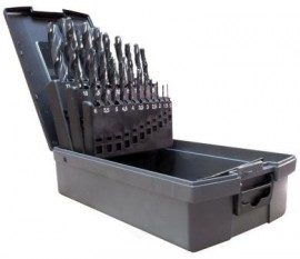 25pc Metric Drill Set (ground flute)