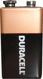 Duracell 9v (single battery)