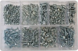 Assorted Countersunk Self Tapping Screws (600)