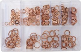 Assorted Box of Fuel injection copper washers
