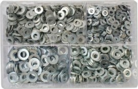 Assorted Flat Washers Imperial - BZP (Table 3)