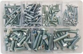 Assorted Setscrews M5-M10 BZP (150)