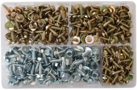 Assorted Acme Screws (hex head) (400)