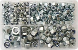 Assorted Nylon Insert Nuts (Metric) (400)