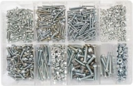 Assorted BA Screws & Nuts 2BA-6BA (500)