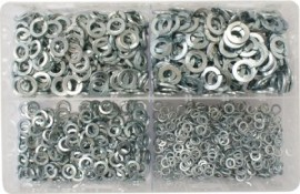 Assorted Spring Washers 3/16-3/8 (1000)