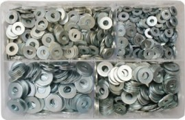 Assorted Flat Washers 3/16-3/8 (1000)