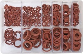 Assorted Fibre Washers METRIC (600)