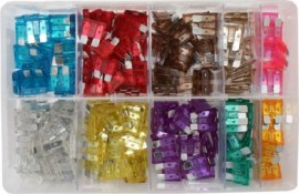 Assorted Blade Fuses (250)