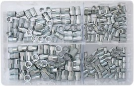 Assorted Nutserts 4mm-8mm (200)