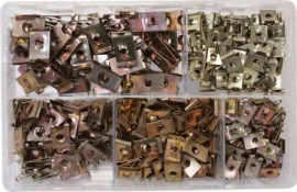 Assorted Speed Fasteners BZP (300)