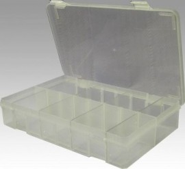 Empty Plastic Box (+ 8 dividers)(for assorted products)