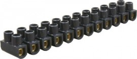 15A Connector Strip - Black