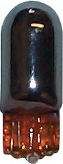 EB501-SIL Bulbs Capless 12v-5w W2.1x9.5D SILVER