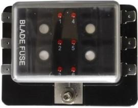 6 position LED warning Blade Fuse Box