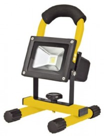10w Super Bright, LED rechargeable work light