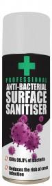Anti-Bacterial Surface Sanitiser (400ml)