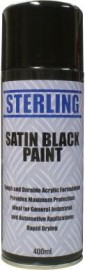 Satin Black Paint