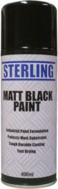 Matt Black Paint Aerosol/Spray (400ml)