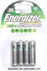 Ni-MH AAA - Rechargeable batteries (4) -
