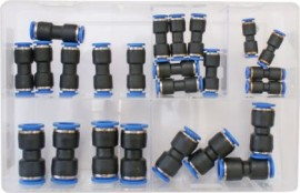 Assorted Push-Fit Couplings (Metric)