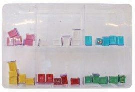 Assorted Low Profile JCASE Fuses (300)