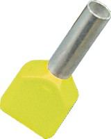 Twin Cord End 6.0mm - Yellow