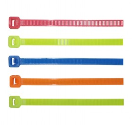 Fluorescent Cable Ties - 200 x 4.8mm