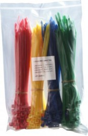 Assorted Coloured Cable Ties